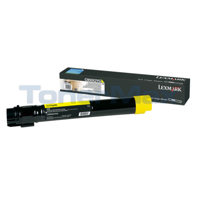 LEXMARK C950 TONER CART YELLOW HY